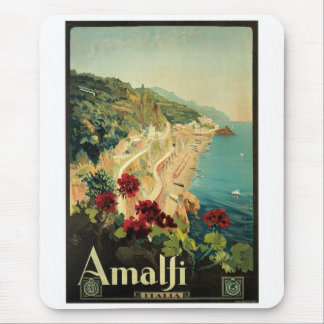 Amalfi, Italy vintage poster Mouse Pad