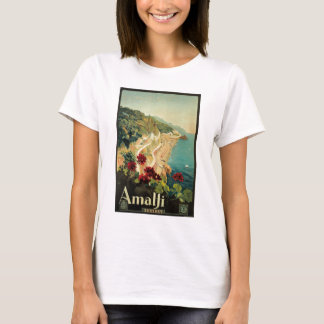 Amalfi, Italy vintage poster T-Shirt