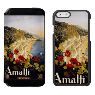 Amalfi Italy vintage travel cases