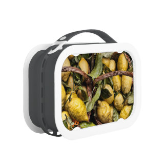 Amalfi Lemon Basket Lunch Box