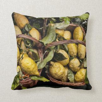 Amalfi Lemon Basket Pillow