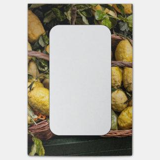 Amalfi Lemon Basket Post-it® Notes