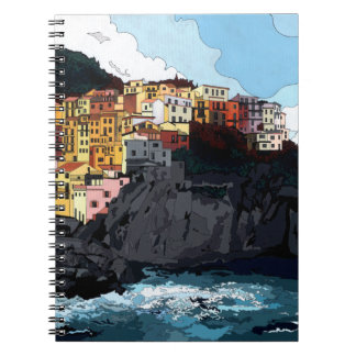 Amalfi Spiral Notebook