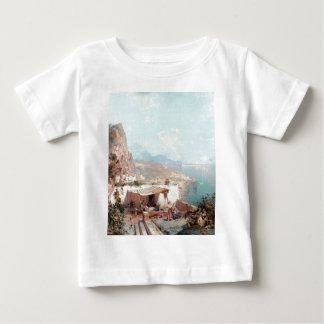 Amalfi, The Gulf Of Salerno by Franz Richard Baby T-Shirt