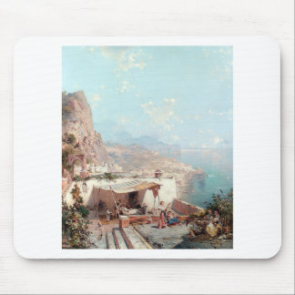 Amalfi, The Gulf Of Salerno by Franz Richard Mouse Pad