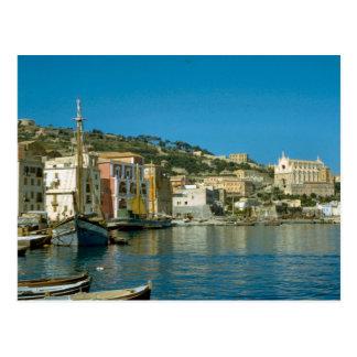 Amalfi, waterfront postcard