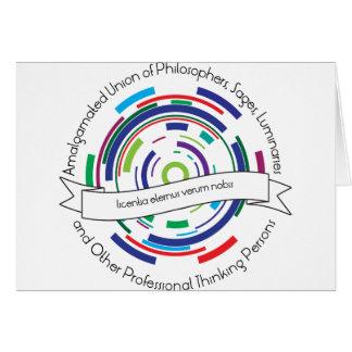 Amalgamated Union of Philosophers Card