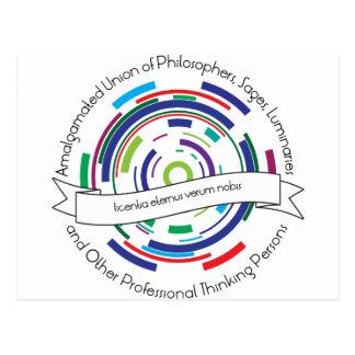 Amalgamated Union of Philosophers Postcard