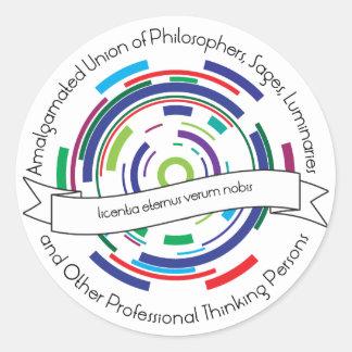 Amalgamated Union of Philosophers Stickers