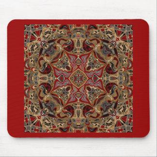 Amalia Kaleidoscope Design Mouse Pad