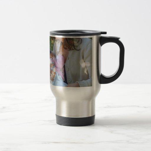 Amamantamiento de la mujer taza