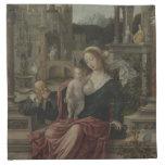 Amamantamiento de Maria de Jesús y de la madre Servilletas De Papel