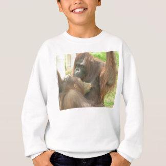 Amamantamiento del orangután playera