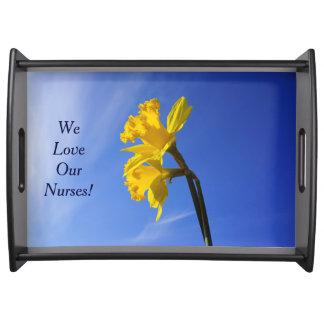 ¡Amamos a nuestras enfermeras! Celebraciones que s Bandeja