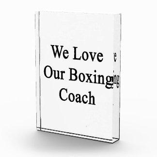 Amamos a nuestro coche del boxeo