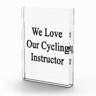 Amamos a nuestro instructor de ciclo