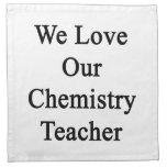 Amamos a nuestro profesor de la química