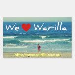 Amamos al pegatina de Warilla