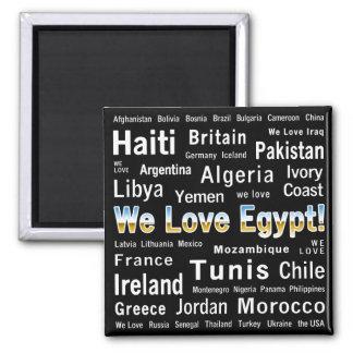 Amamos Egipto, y otros Imanes