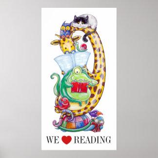 ¡Amamos el leer! Póster