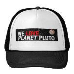 AMAMOS el planeta Plutón Gorras