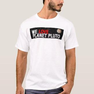 AMAMOS el planeta Plutón Playera