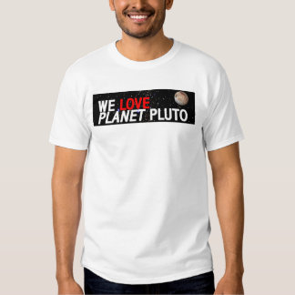 AMAMOS el planeta Plutón Polera