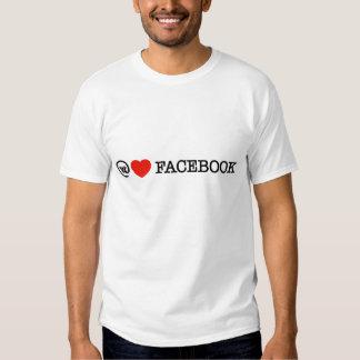 amamos la camiseta del facebook poleras