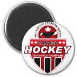 ¡Amamos nuestro hockey canadiense! Imán Para Frigorifico
