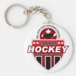 ¡Amamos nuestro hockey canadiense! Llaveros
