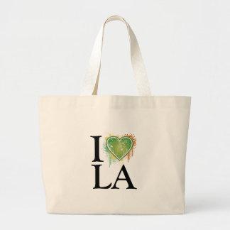 Amamos t bolsa tela grande