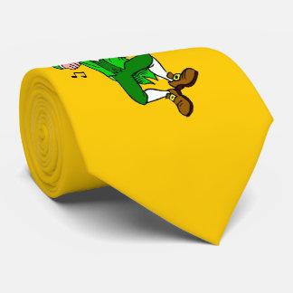 Aman@o del Leprechaun para el lazo del día de St Corbata Personalizada