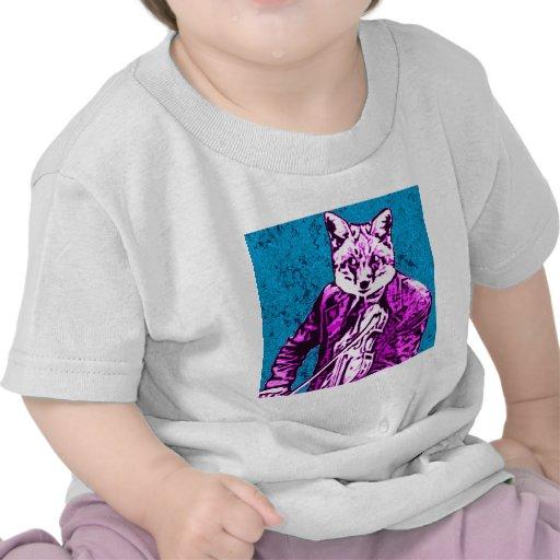 aman@o del zorro camisetas