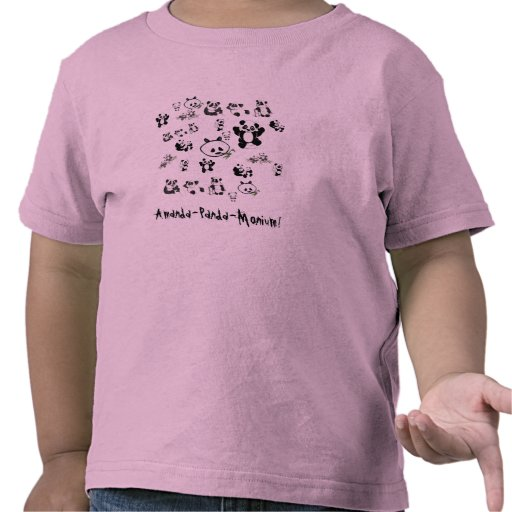 Amanda, Amanda-Panda-Monium! T-shirt