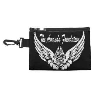 Amanda Foundation Winged Tribal Paw Print Accessories Bag