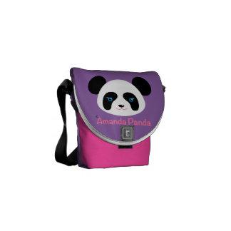 Amanda Panda Messenger Bag