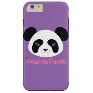 Amanda Panda Tough iPhone 6 Plus Case