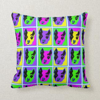 Amanda Pitty Pop Art Throw Pillow