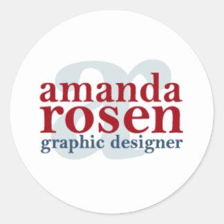 Amanda Rosen Designs Sticker