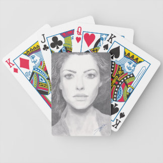 Amanda Seyfried Playing Cards