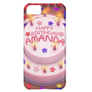 Amanda's Birthday Cake Case For iPhone 5C