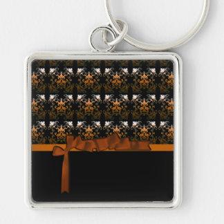 Amanda's Damask 2 Keychain
