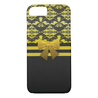 Amanda's Damask yellow iPhone 8/7 Case