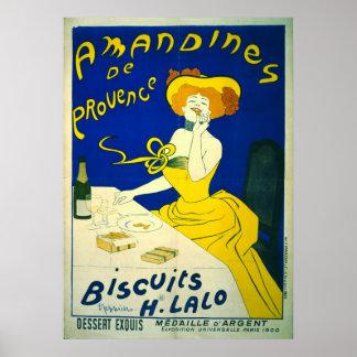 Amandines de Provence 1900 Póster