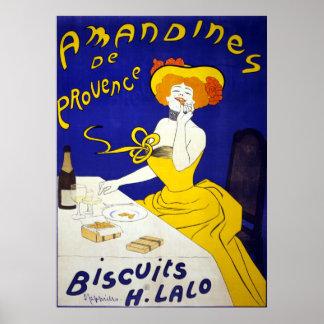 Amandines de Provence Poster