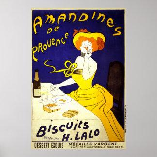 Amandines de Provence Póster