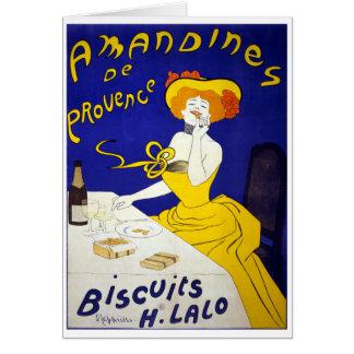 Amandines de Provence Tarjeta De Felicitación