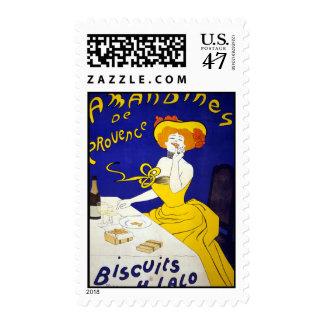 Amandines de Provence Timbre Postal