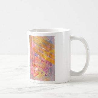 Amanecer brillante taza