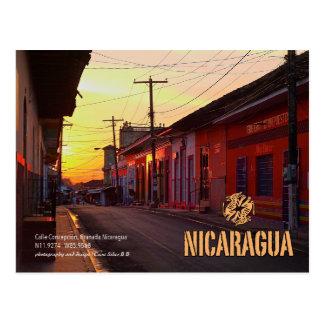 Amanecer, Calle Concepcion Postcard